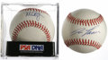Autographs:Baseballs, Mark McGwire & Jose Canseco Single Signed Baseballs Lot of 2.The infamous Bash Brothers may have been powered by something...(Total: 2 )