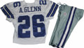 Football Collectibles:Uniforms, 2006 Aaron Glenn Game Worn Jersey with Pants. High-quality jersey from the 2006 season was worn by Dallas Cowboys cornerba...
