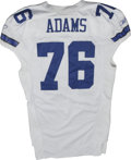 Football Collectibles:Uniforms, 2006 Flozell Adams Game Worn Jersey. High-quality jersey from the 2006 season was worn by Dallas Cowboys offensive tackle ...