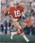 Football Collectibles:Others, Joe Montana Ephemera Lot of 10. Here we focus on perhaps the finest quarterback to ever man a backfield, the clutch perform... (Total: 10 )