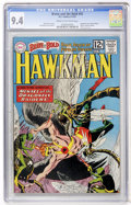 Silver Age (1956-1969):Superhero, The Brave and the Bold #42 Hawkman (DC, 1962) CGC NM 9.4 Cream to off-white pages....
