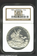 """German States:Friedburg, German States: Friedburg. Thaler 1804GB-GH, KM75, MS63 NGC, the only issue from the """"imperial city"""" and a particularly flashy example. ..."""