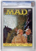 Magazines:Mad, Mad #32 Gaines File pedigree (EC, 1957) CGC NM- 9.2 White pages....