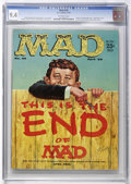 Magazines:Mad, Mad #46 (EC, 1959) CGC NM 9.4 Off-white pages....