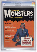 Magazines:Horror, Famous Monsters of Filmland #2 (Warren, 1958) CGC VF 8.0 Off-white to white pages....