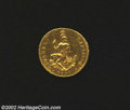Italian States:Tuscany, Italian States: Tuscany. Ferdinando III Gold Ruspone 1797, C39, VF but polished surfaces indicate use in a bezel. ...