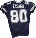 Football Collectibles:Uniforms, 2006 Anthony Fasano Game Worn Jersey. Anthony Fasano has managed to make an impact at the NFL level as a tight end backup t...
