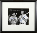 Autographs:Photos, Stan Musial and Ted Williams Dual-Signed Photograph. Thecontemporary duo of Stan Musial and Ted Williams thrilled fans of...
