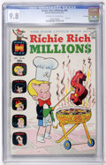 Bronze Age (1970-1979):Cartoon Character, Richie Rich Millions #49 File Copy (Harvey, 1971) CGC NM/MT 9.8 Off-white to white pages....