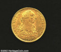 Mexico: , Mexico: Carlos III Gold 8 Escudos 1785Mo-FM, KM156.2a, XF+, thereverse is slightly prooflike. ...