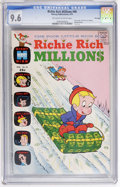 Bronze Age (1970-1979):Cartoon Character, Richie Rich Millions #46 File Copy (Harvey, 1971) CGC NM+ 9.6Off-white to white pages....