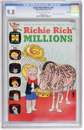 Bronze Age (1970-1979):Cartoon Character, Richie Rich Millions #44 File Copy (Harvey, 1970) CGC NM/MT 9.8Off-white to white pages....