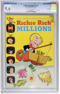 Bronze Age (1970-1979):Cartoon Character, Richie Rich Millions #43 File Copy (Harvey, 1970) CGC NM+ 9.6Off-white to white pages....