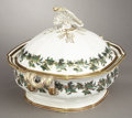 Political:3D & Other Display (pre-1896), American Eagle: Stunning, Large Mid-19th Century Lidded Serving Dish....
