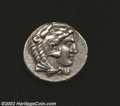 Ancients:Greek, Ancients: Macedon, Kings of. Alexander the Great, 336-323 BC, ARtetradrachm (17.18 gm.), Arados Mint, 328-320 B.C. Head of youngHer...