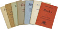 Books:Pamphlets & Tracts, Collection of Arkham House Stock Lists 1944-1975.... (Total: 14Items)