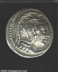 "Ancients:Greek, Ancients: Attica, Athens, Circa 110/09 B.C. AR ""New Style""tetradrachm (16.73 gm.), Helmeted head of Athena right/Owl, onamphora, sta..."