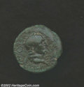 Ancients:Roman, Ancients: Moesia Inferior, Tomis. Vespasian, Titus and Domitian,69-79 A.D., AE 18 (4.97 g). Laureate head of Vespasian right/ Bare...