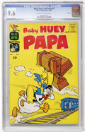 Silver Age (1956-1969):Humor, Baby Huey and Papa #2 File Copy (Harvey, 1962) CGC NM+ 9.6 Cream to off-white pages....