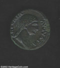 Ancients:Roman, Ancients: Antonia, Struck under Claudius-41-54 AD, Æ dupondius,(11.3 gm.) Draped bust right/Claudius standing left, holdingsimpulum....
