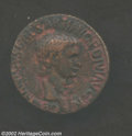 Ancients:Roman, Ancients: Germanicus, Died 19 A.D., AE as (12.19 gm.) struck byClaudius, 41-54 A.D., Bare head right/ Large SC, RIC 106(Claudius). V...