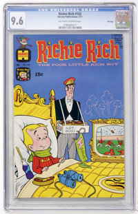 Richie Rich #102 File Copy (Harvey, 1971) CGC NM+ 9.6 Off-white to white pages