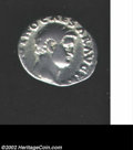 Ancients:Roman, Ancients: Otho, 69 A.D., AR denarius (2.97 g). Bare head right/Victory advancing right carrying wreath, palm frond. RIC 14 (Rarity3...
