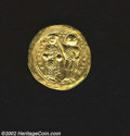Ancients:Byzantine, Ancients: Romanus III, 1028-1034 A.D., AV histamenon nomisma (4.35gm.), Constantinople mint. Christ enthroned facing, holding bookof...