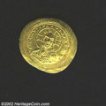 Ancients:Byzantine, Ancients: Constantine X, 1059-1067 A.D., AV histamenon nomisma (4.36 gm), Constantinople mint. Christ, nimbate, seated facing/Constant...