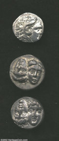 Ancients:Greek, Ancients: Black Sea Area, a three-coin lot from 4th century B.C.Istros and Kallatis, VF+ to XF. ... (Total: 3 coins Item)