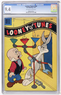 Golden Age (1938-1955):Cartoon Character, Looney Tunes and Merrie Melodies Comics #169 (Dell, 1955) CGC NM9.4 Off-white to white pages....