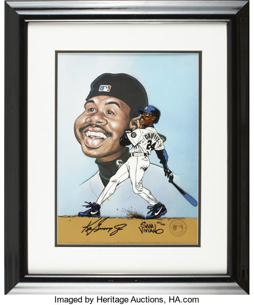 eb92dbe3b4 Baseball Collectibles:Others, Ken Griffey, Jr. Signed Limited-Edition Cel.