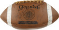 Football Collectibles:Balls, 1967 Green Bay Packer World Champion Team Signed Football. 1967 was an epic year in the history of the Green Bay Packers as...