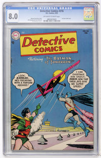 Detective Comics #216 (DC, 1955) CGC VF 8.0 Off-white to white pages