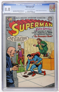 Superman #88 (DC, 1954) CGC VF 8.0 Cream to off-white pages