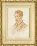 Decorative Prints, European:Prints, Seymour Lucas (British, 1890-20th Century). Portrait of EdwardVIII, Prince of Wales. Lithograph, signed and dated in th...