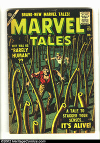 1950s Atlas Science-Fiction Comics Group of 5 (Atlas, 1950) Marvel Tales #151 (GD/VG), Journey Into Unknown Worlds #38 (...