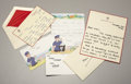 Royal Memorabilia:British, Three Letters Written by Princess Diana, Prince William, and PrinceHenry to Ken Wharfe, Inspector of Police at Kensington Pal...(Total: 3 Items)