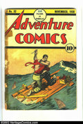 Golden Age (1938-1955):Adventure, Adventure Comics #32 (DC, 1938) Condition: FR. This is the very first issue. It looks like this book was part of a bound vol...