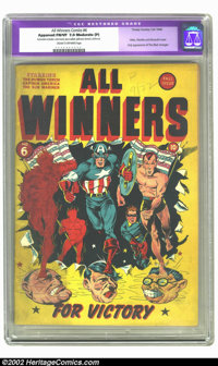 All Winners Comics #6 (Timely, 1942) CGC Apparent FN/VF 7.0 Moderate (P) Cream to off-white pages. Check out this great...