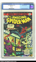 Bronze Age (1970-1979):Superhero, Amazing Spider-Man #137 (Marvel, 1974) CGC NM 9.4 Off-white pages. Green Goblin cover and story. Second Harry Osborn. Overst...