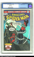 Bronze Age (1970-1979):Superhero, Amazing Spider-Man #148 (Marvel) CGC NM 9.4 Off-white to white pages. Overstreet 2002 NM 9.4 value = $32. ...