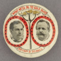 Political:Pinback Buttons (1896-present), Bryan & Sewell: Celluloid Campaign Pin...