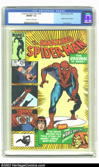 Amazing Spider-Man #259 (Marvel, 1984) CGC NM/MT 9.8 Off-white to white pages. Origin of Mary Jane Watson; Spider-Man ba...