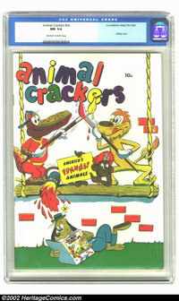 Animal Crackers nn (Fox Features Syndicate, 1950s) CGC NM 9.4 Off-white to white pages. Overstreet & CGC list this b...
