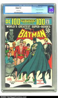 Batman #238 (DC, 1972) CGC VF/NM 9.0 Off-white pages. 100 page super spectacular; Neal Adams cover. Overstreet 2002 NM 9...