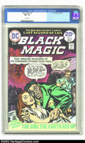 Bronze Age (1970-1979):Horror, Black Magic #4 (DC, 1974) CGC NM 9.4 White pages. Overstreet 2002NM 9.4 value = $16. ...