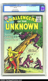 Challengers of the Unknown #5 (DC, 1959) CGC VF 8.0 Cream to off-white pages. Artwork by Wally Wood and Jack Kirby. Over...
