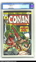 Bronze Age (1970-1979):Superhero, Conan The Barbarian #50 (Marvel, 1975) CGC NM+ 9.6 Off-white to white pages. Gil Kane cover; Buscema art. Overstreet 2002 NM...
