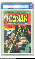Bronze Age (1970-1979):Superhero, Conan The Barbarian #51 (Marvel, 1975) CGC NM 9.4 Off-white to white pages. John Buscema art. Overstreet 2002 NM 9.4 value =...